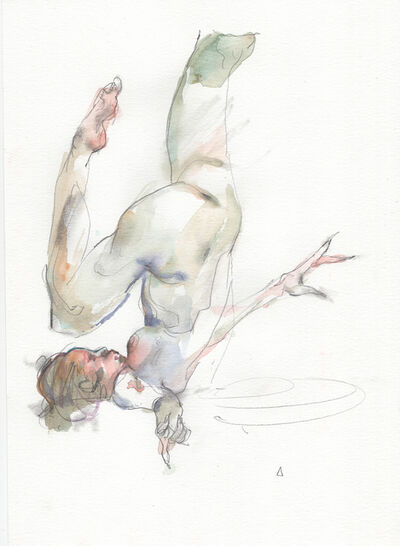 Eliza Ivanova, 'Watercolor Gesture 01', 2018