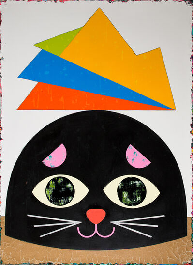 Lai Chiu-Chen, 'The Black Cat Rises the Mountain One Meter Up', 2017