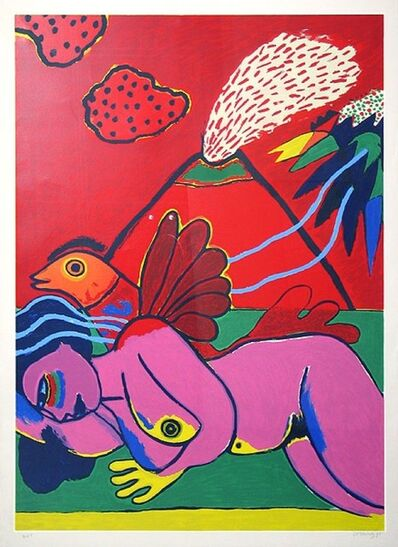 Guillaume Corneille, 'Lying Nude (Liegender Akt)', Unknown