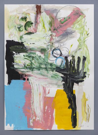 Pedro Cabrita Reis, 'Les Peintures Joyeuses, Série IV, #8', 2019