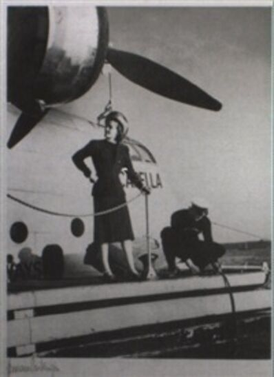 Norman Parkinson, 'Fashion Flying Boat'