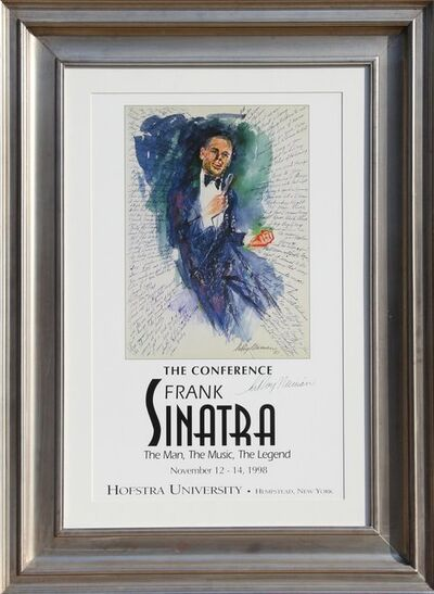 LeRoy Neiman, 'Frank Sinatra - The Conference', 1998