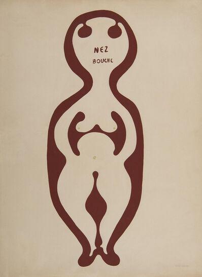 Victor Brauner, 'Nez bouche', 1937