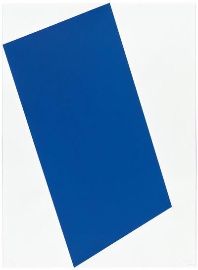 Ellsworth Kelly, 'Blue (For Leo) ', 1997