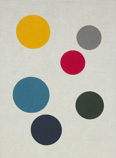 Antonio Ballester Moreno, 'Planets. Yellow, grey, red, blues, green', 2018