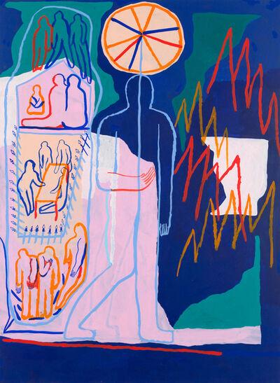 Marion Jdanoff, 'Travail / Famille / Appartement', 2018