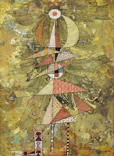 René Portocarrero, 'Abstract Composition'