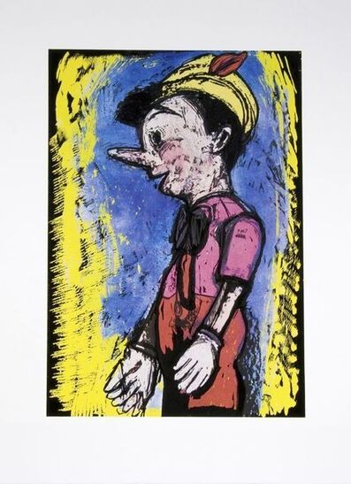 Jim Dine, 'Pinocchio / Lincoln Center', 2008