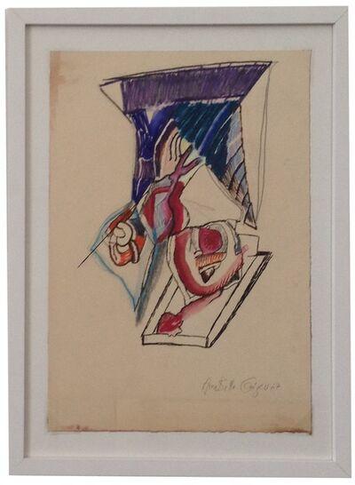 Anna Bella Geiger, 'Vicerais com asas', 1967