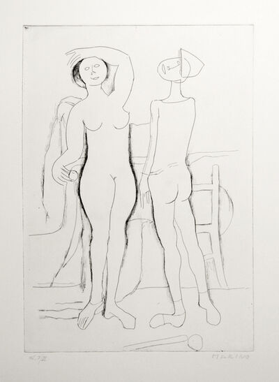 Marino Marini, 'L'Incontro (The Meeting)', 1961