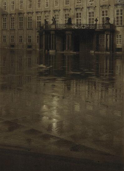 Josef Sudek, 'The Third Courtyard of Prague Castle', 1947