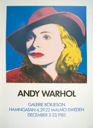 Andy Warhol, 'Ingrid with Hat', 1983