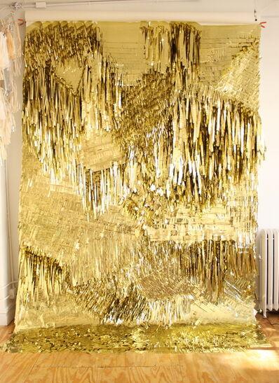 CONFETTISYSTEM, 'Gold Wall', 2012