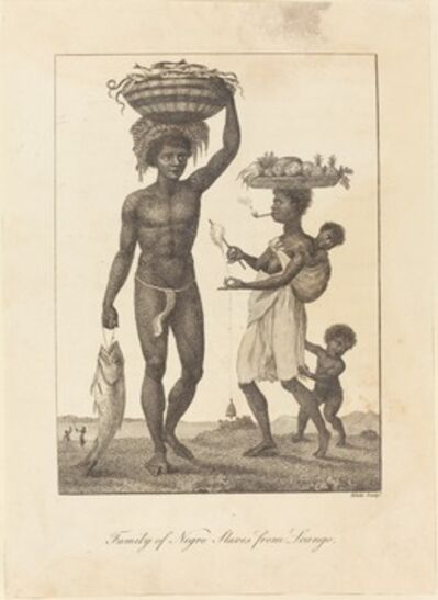 William Blake, 'Family of Negro Slaves from Loango', 1793