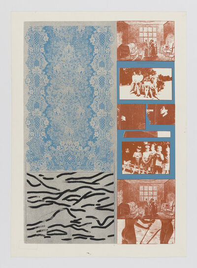 R. B. Kitaj, 'Old and New Tables', 1964
