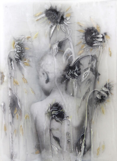 Sibylle Peretti, 'Boy with Sunflowers ', 2019