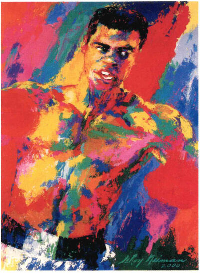 LeRoy Neiman, 'Muhammad Ali Athlete Of The Century', 2001