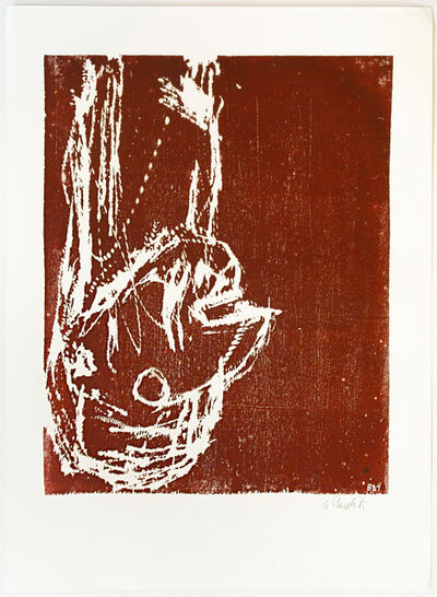 Georg Baselitz, 'Kopf (Head)', 1981
