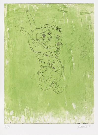 """Georg Baselitz, 'Bello, from """"Schlafende Hunde""""', 1998-1999"""