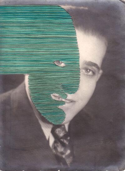 Maurizio Anzeri, 'Untitled (green)', 2019