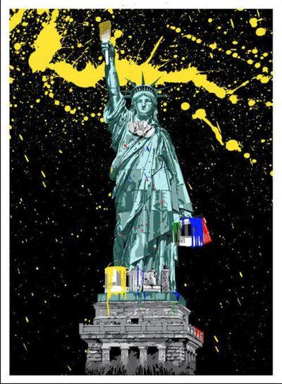 Mr. Brainwash, 'Liberty', 2010
