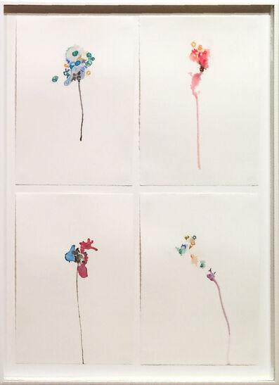 Gustavo Bonevardi, 'Flower vertical quartet II', 2012