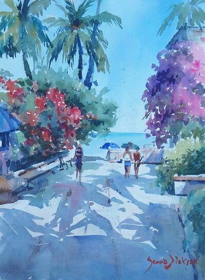 Donna Dickson, 'Andador-Beach'