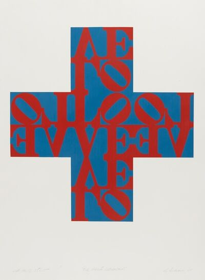 Robert Indiana, 'Love Cross (Sheehan 44)', 1968