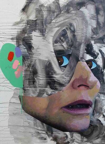 Ashley Hans Scheirl, 'Grünes Ohr', 2018