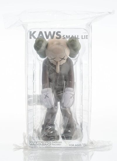 KAWS, 'Small Lie (Brown)', 2017