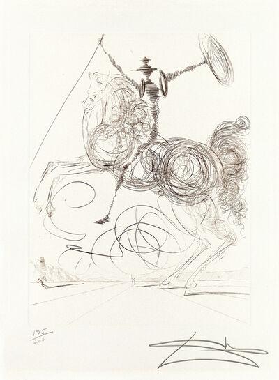 Salvador Dalí, 'Don Quichotte (Horseman)', 1964-75