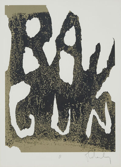 Claes Oldenburg, 'Thure Ray Gun', 1961