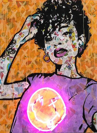 Amy Smith, 'Nevermind-Neon Orange', 2018