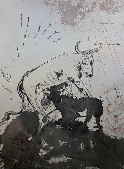 Salvador Dalí, 'The Lion Eating Straw Like The Ox, 'Leo Quasi Bos Comedens Paleas', Biblia Sacra', 1967