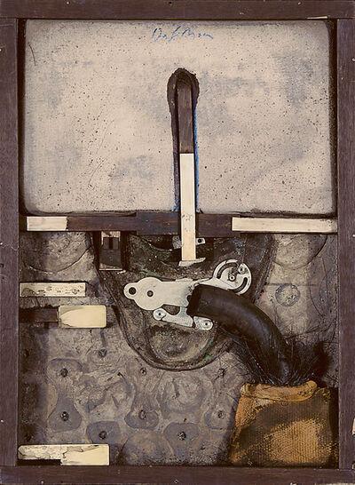 Karl Fred Dahmen, 'Objektkasten', 1972