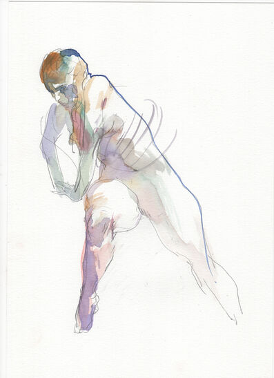 Eliza Ivanova, 'Watercolor Gesture 02', 2018