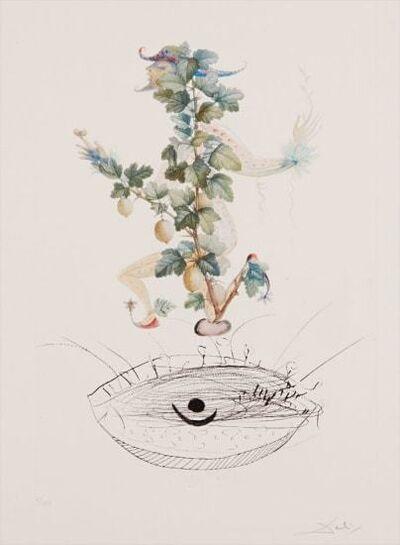 Salvador Dalí, 'Flordali - Révérence du Groseiller', 1969