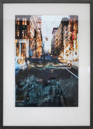 "Gottfried Salzmann, '""NY Riverside""', 2017"