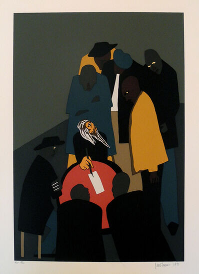 Jacob Lawrence, 'No. 15 John Brown made many trips to Canada organizing for his assault on Harper's Ferry', 1977