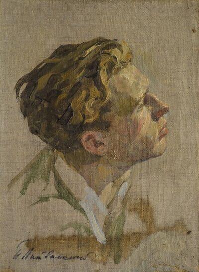Petr Petrovich Litvinsky, 'Young man sketch', 1950