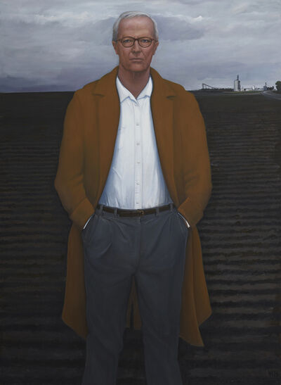 William Beckman, 'Overcoat with Plowed Field (Survival)', 2018-2019