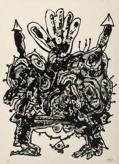 Antonio Saura, 'Claudia, from the Novisaurias series', 1969