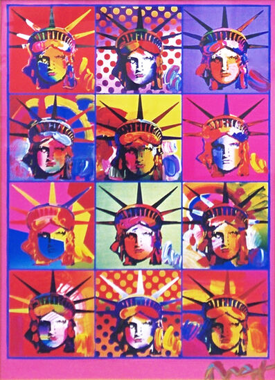 Peter Max, 'LIBERTY AND JUSTICE FOR ALL', 2001