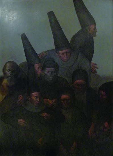 """Rafael Coronel, '""""Concilio Familiar""""', ca. 1960"""