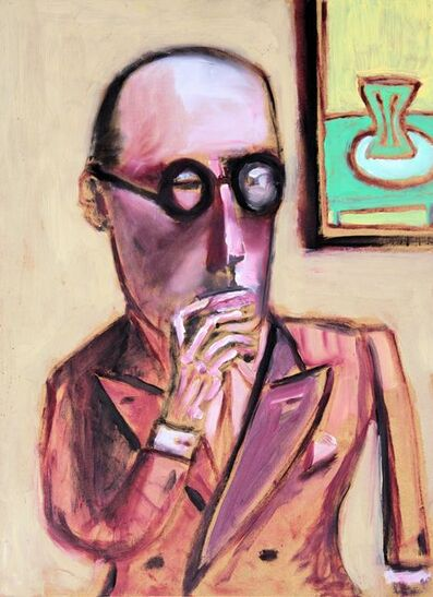michael lindsay-hogg, 'LeC (smoking)', 2014
