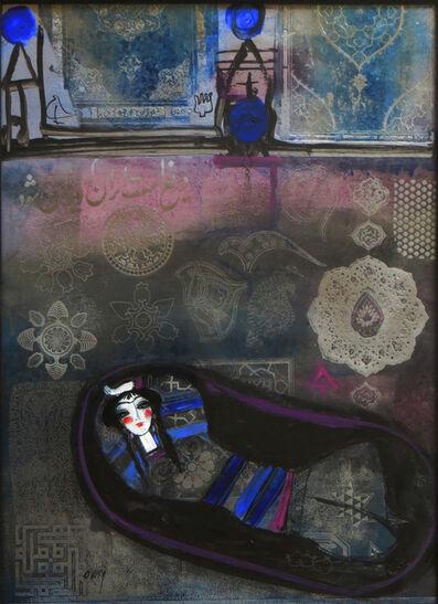 Nasser Ovissi, 'Girl in Blue', ca. 1980