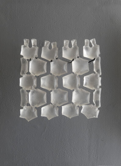 Cynthia Reynolds, 'air pillow packaging, hexagonal : voids', 2018
