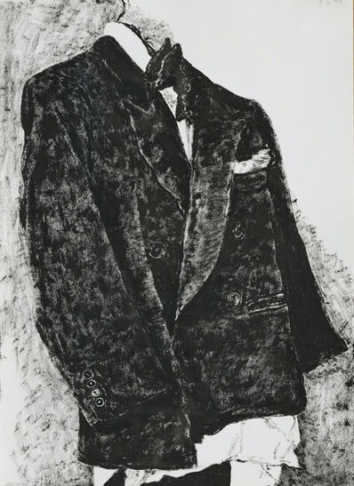 Avigdor Arikha, 'The Old Smoking', 1974