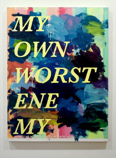 David Kramer, 'My Own Worst Enemy', 2019