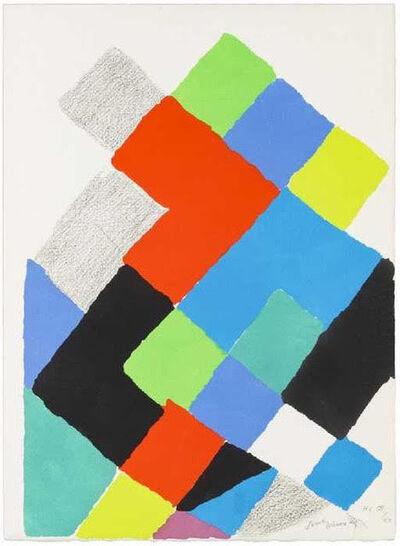 Sonia Delaunay, 'Untitled [Arthur Rimbaud, Les Illuminations] ', 1973